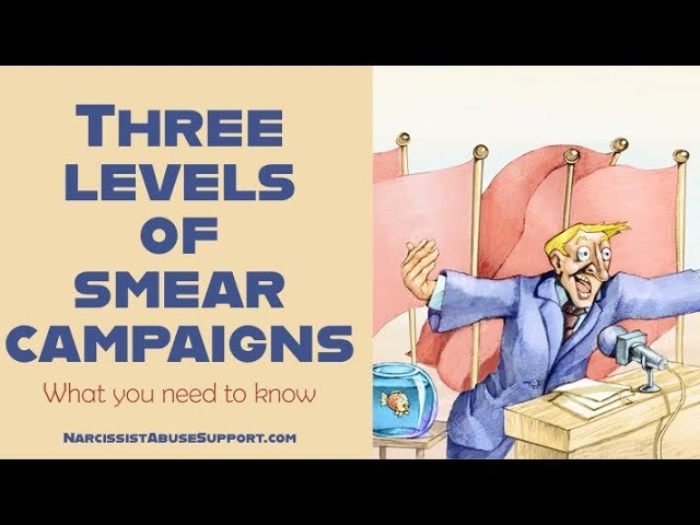 Three levels of smear campaigns and how to protect yourself - Tracy Malone