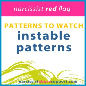 instable patterns