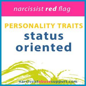 status oriented