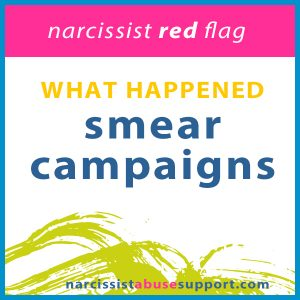 smear campaigns
