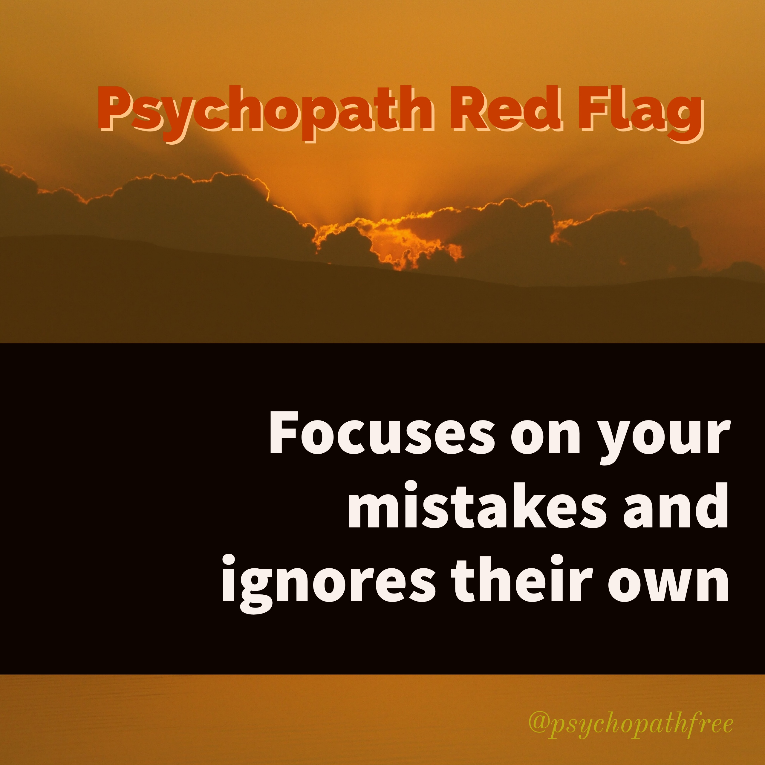 red flags dating psychopath