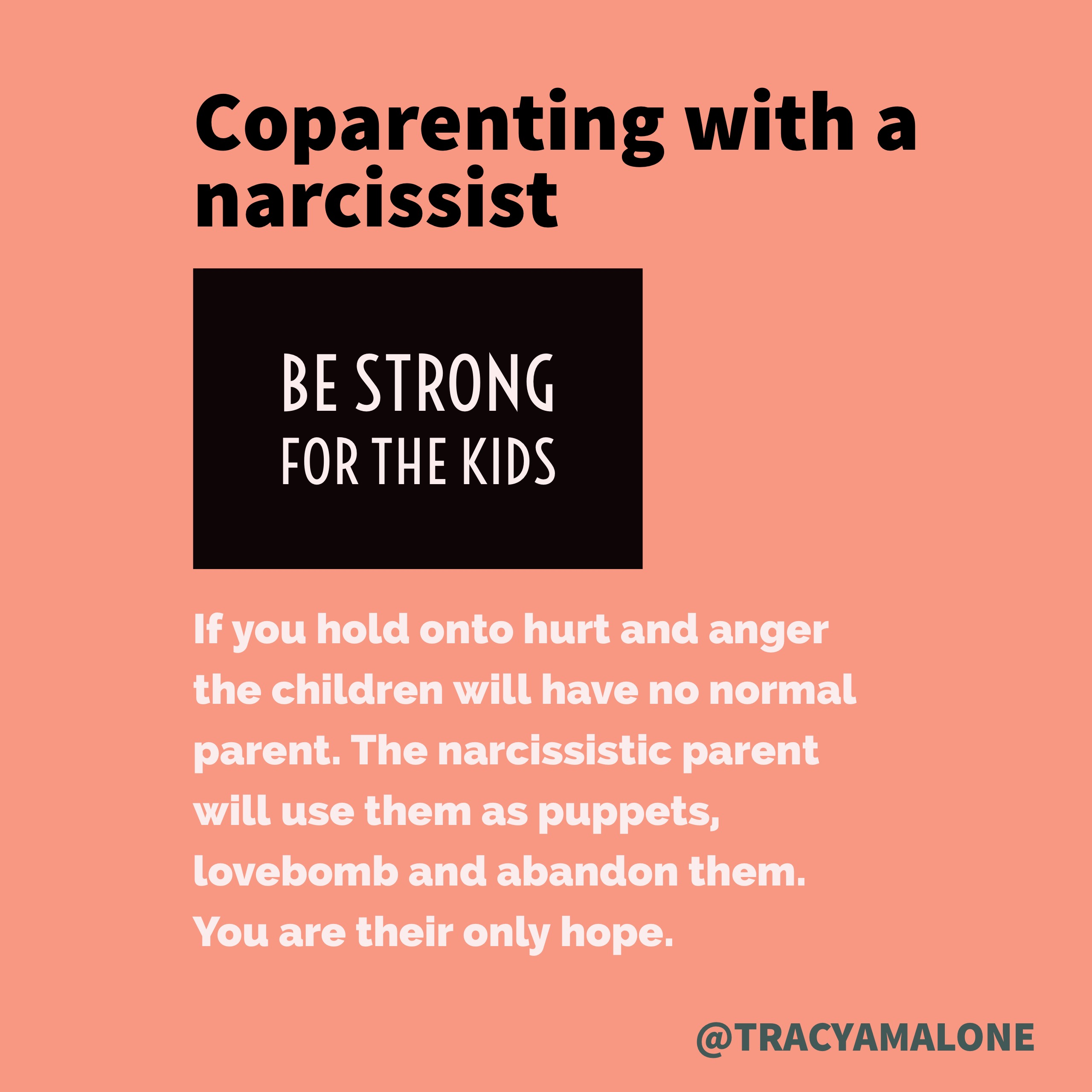 The Narcissistic Parent Of Special >> Be Strong For The Kids Co Parenting With A Narcissist