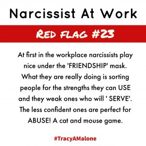 Nice narcissists