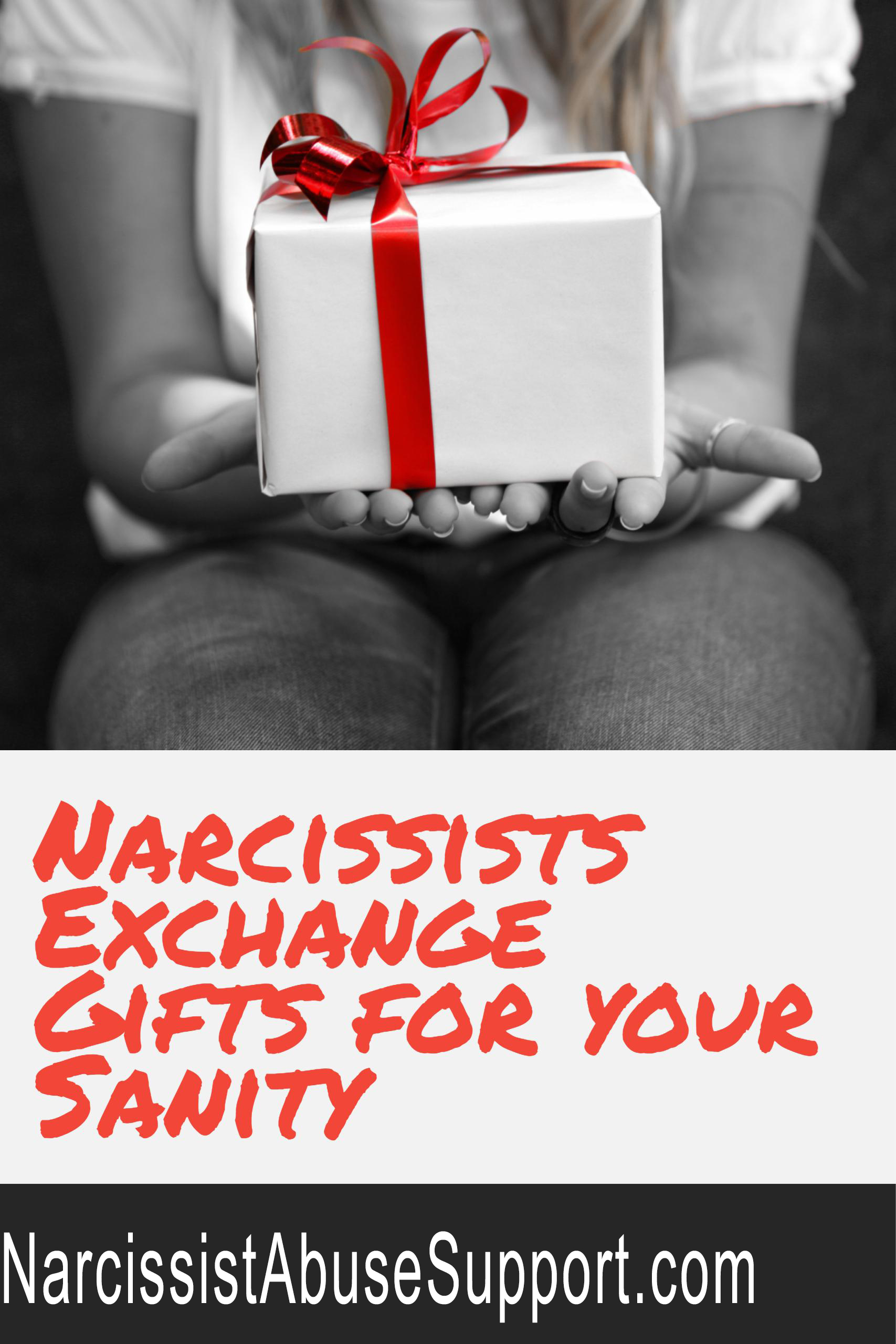 Narcissist Gift Giving Red Flag