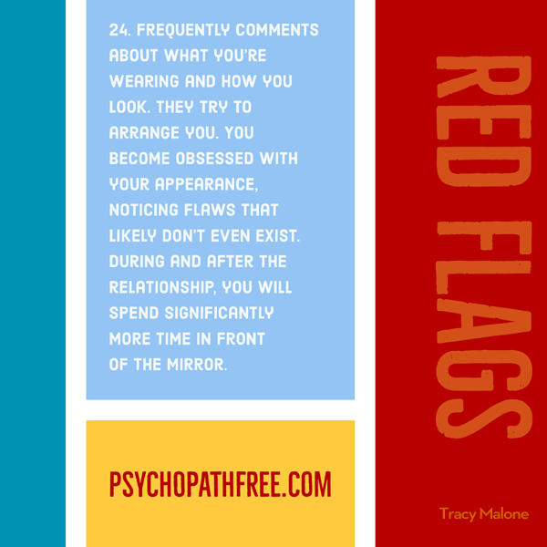 Red Flag of narcissist abuse. Jackson MacKenzie - psychopathfree. meme made by @tracyamalone
