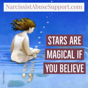 Stars are magical if you believe - NarcissistAbuseSupport.com
