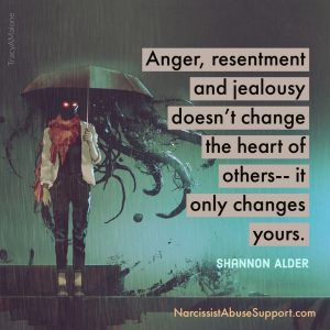 Anger, resentment and jealousy doesn't change the heart of others - It only changes yours. - Shannon Alder