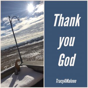 Thank you God - Tracy A. Malone