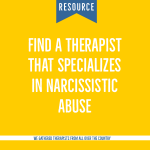 find a narcissist abuse therapist
