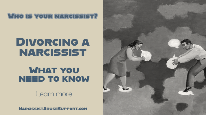 Are you divorcing a narcissist - Narcissist Abuse Support