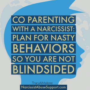 Co-Parenting with a narcissist: Plan for nasty behaviors so you are not blindsided. - NarcissistAbuseSupport.com